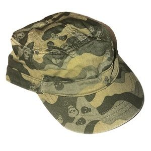 🔵Camo Skull Hat Old Navy
